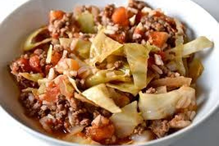 Skillet Cabbage Roll