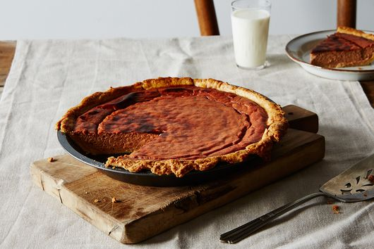 Brûléed Apple Butter Pie