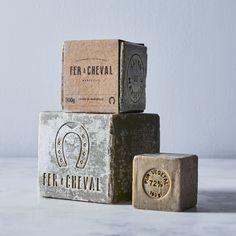Marseille Soap Cube Trio (Set of 3)
