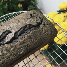Black Sesame Coffee Loaf Cake