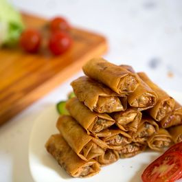 egg rolls by karon