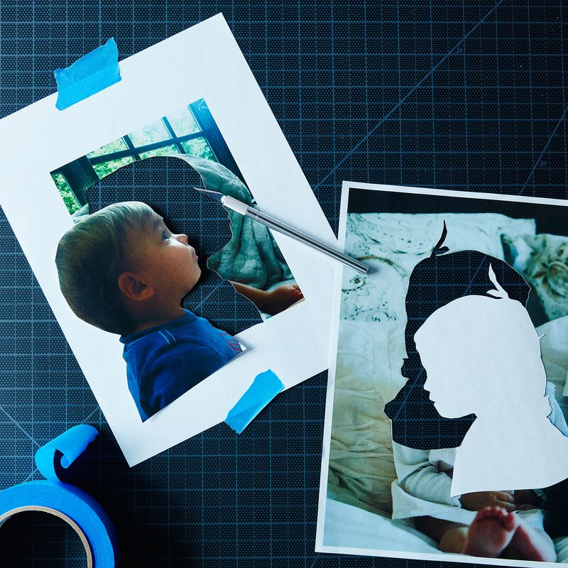 DIY Painted Silhouettes Your Kid Can Make—for Father's Day or Any Day