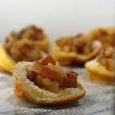 Mini Dutch Babies with Honeyed Pears