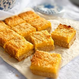Lemon Curd Coconut Bars