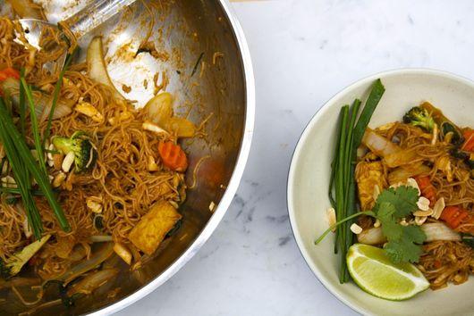 The best gluten-free vegan pad Thai