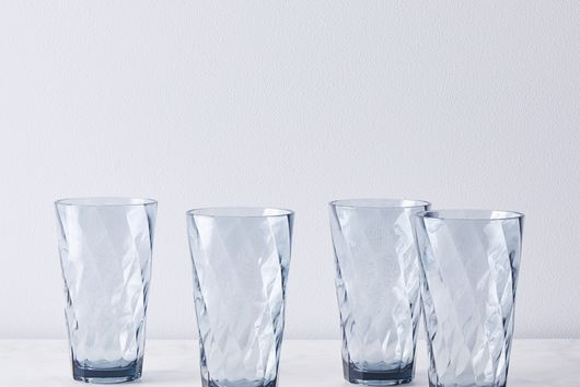 Shatter-Proof Optic Melamine Glasses (Set of 4)