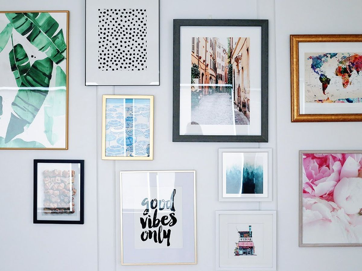 Simple Tips For Building A Gallery Wall