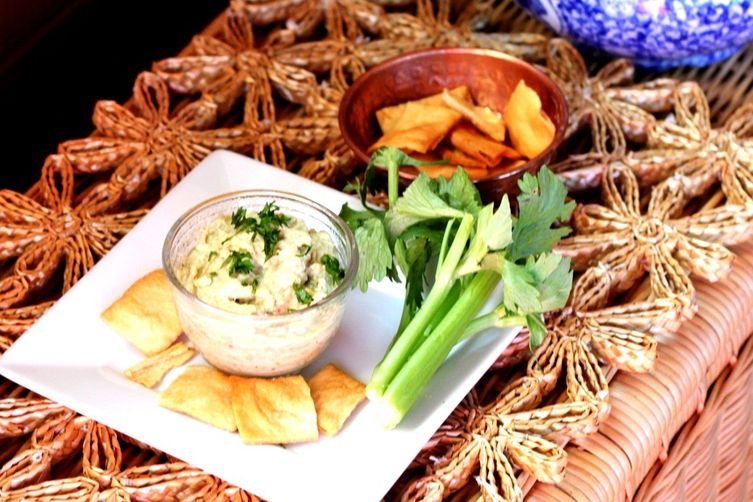 Roasted Celery Hummus