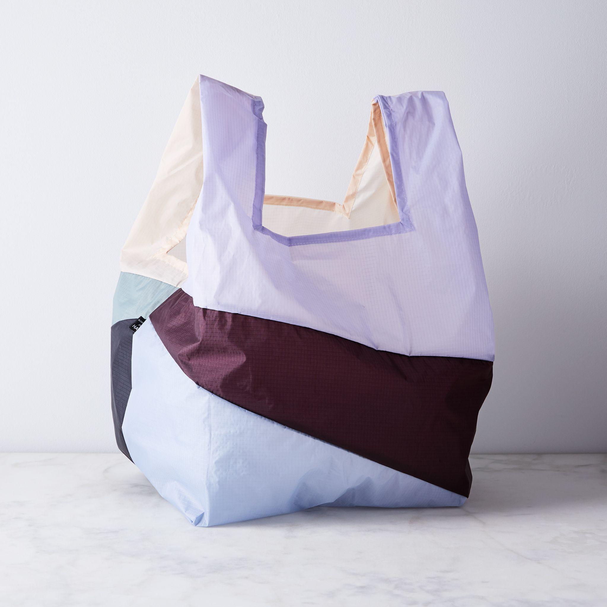 HAY Six Color Reusable Grocery Bag - No. 2 Faded Neutrals