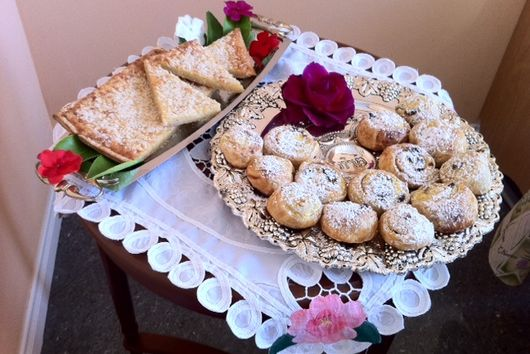 Shavuot Ricotta Pastries and Potato-Cheese Galette