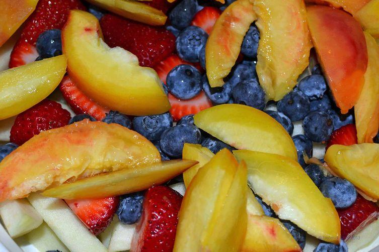Rustic Fruit Crumble