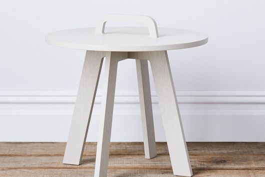 Fold-Up Side Table