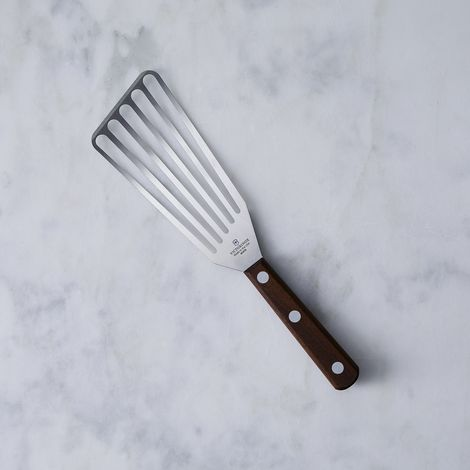 Swiss Walnut Slotted Chef Turner