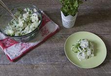 Sweet & Sour Kohlrabi Salad