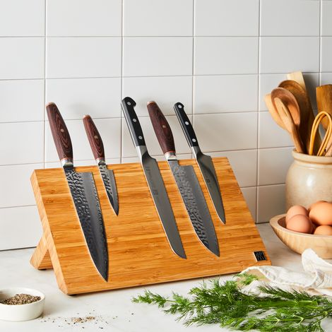 Zwilling Bamboo Magnetic Knife Easel