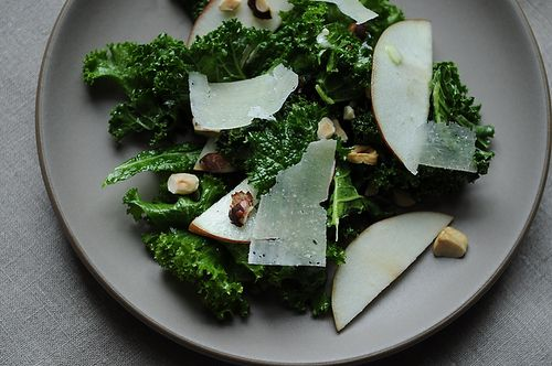 Kale Salad with Apples and Hazelnuts from Food52