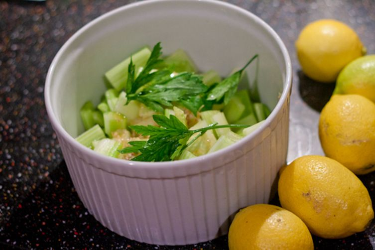 Celery Anchovy Salad