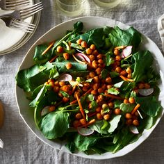Buffalo Chickpea Salad With Vegan Ranch