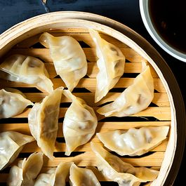 Noodles and dumplings by laura
