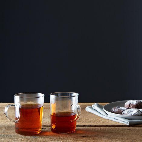 Glass Tea Cup (Set of 4)