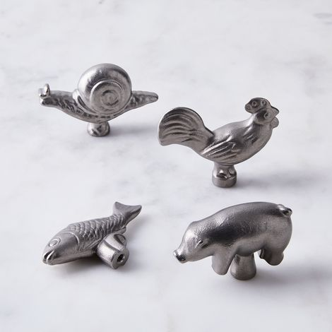 Staub Animal Knobs