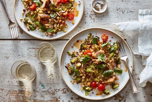 Chile-Lime Chicken & Broccoli Salad