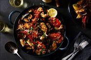 Seafood Paella (Paella de Mariscos)