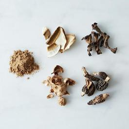 Porcini Powder and Dried Wild Mushrooms Collection