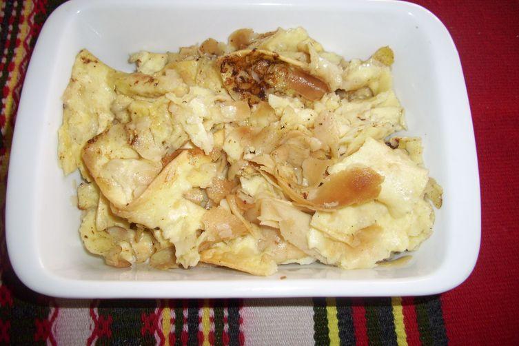 Mlinci (Baked Noodles)