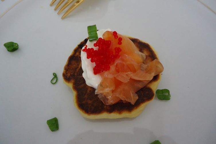 Blinis (Raised Pancakes)