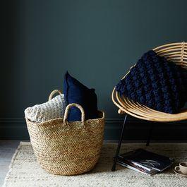 Handwoven Moroccan Basket