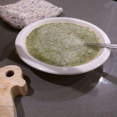 Roast Broccoli Soup