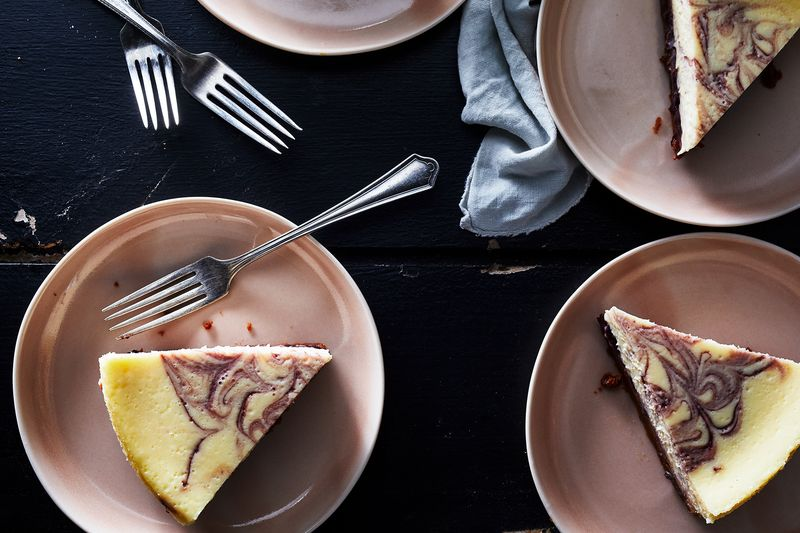 Take charge of your cheesecake!