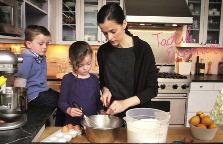 Amanda Makes David Eyre's Pancake (featuring Addie & Walker)