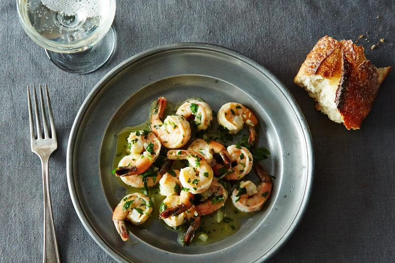 18 dinner recipes that require no planning ahead sauted shrimp with lemon garlic and parsley forumfinder Choice Image