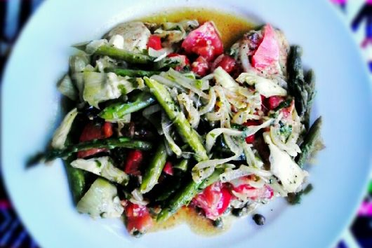 Summertime Asparagus and Tilapia