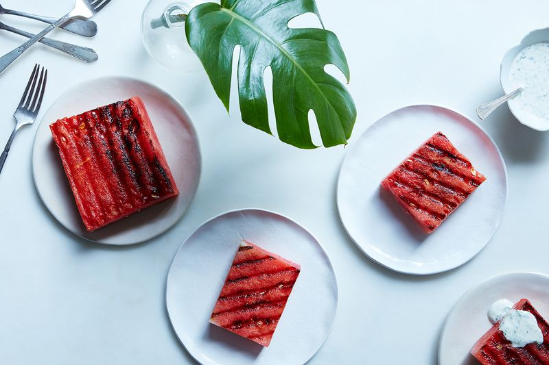 Grilled Watermelon with Tequila