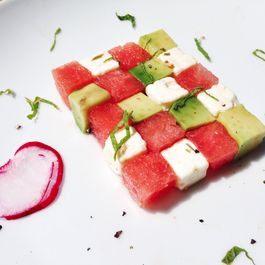 The Perfect Summer Salad (Watermelon, Feta, Avocado, and Mint Salad)