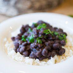 Simple Black Beans & Rice