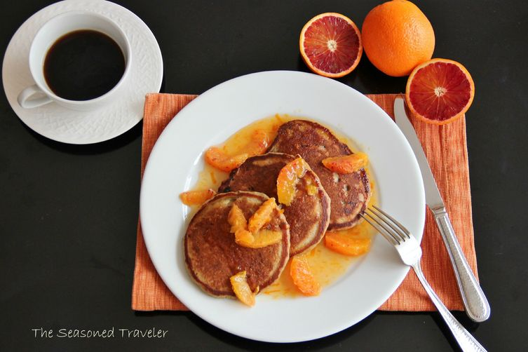 Sticky Date Pancakes