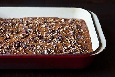 Fruitcake-Inspired Brownies