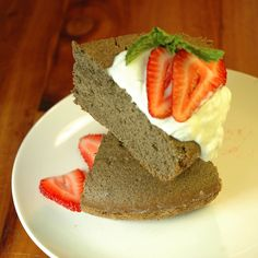 Buckwheat Brown Sugar Angel Food Cake