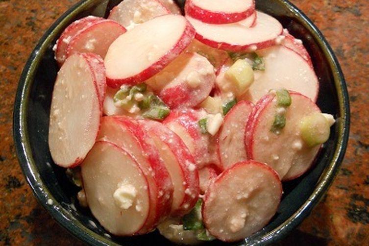 Radish and Feta Salad