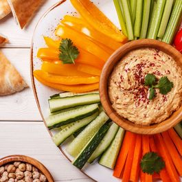 Veggies with Smoked Tofu Spread Dip by Tofu Spread