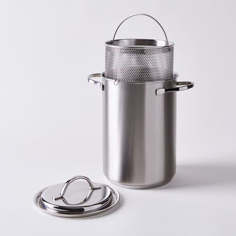 Demeyere Multi-Use Mini Stockpot with Steaming Basket