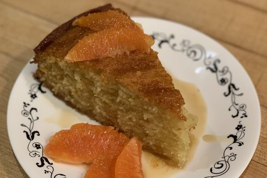Orange Blossom Olive Oil Cake