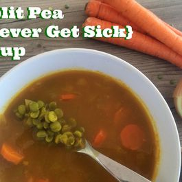 Split Pea Never-Get-Sick-Soup
