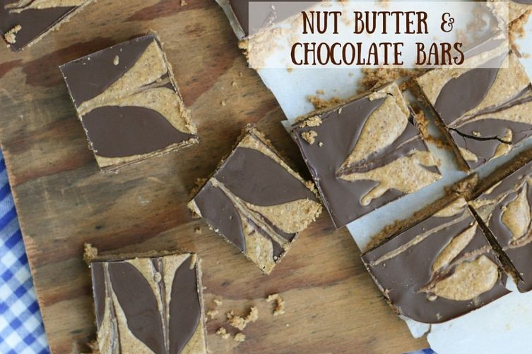 Nut Butter & Chocolate Bars
