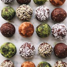 Oat Free Hazelnut Cacao Truffles