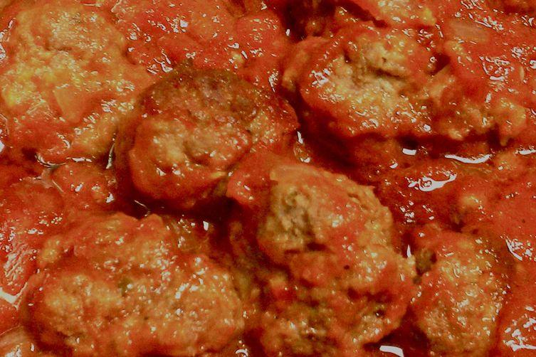 Aunt Julie's Meatballs